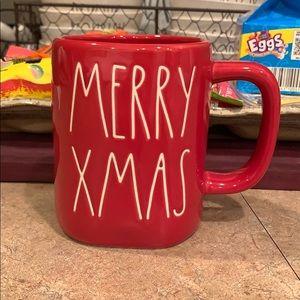 Rae Dunn merry Xmas mug